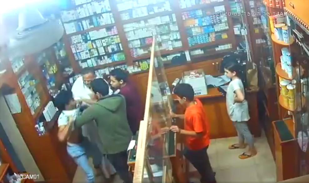 فيديو الأعتداء