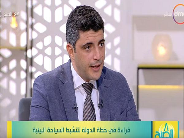 محمد عليوه مدير برنامج السياحة البيئية بوزارة البيئة