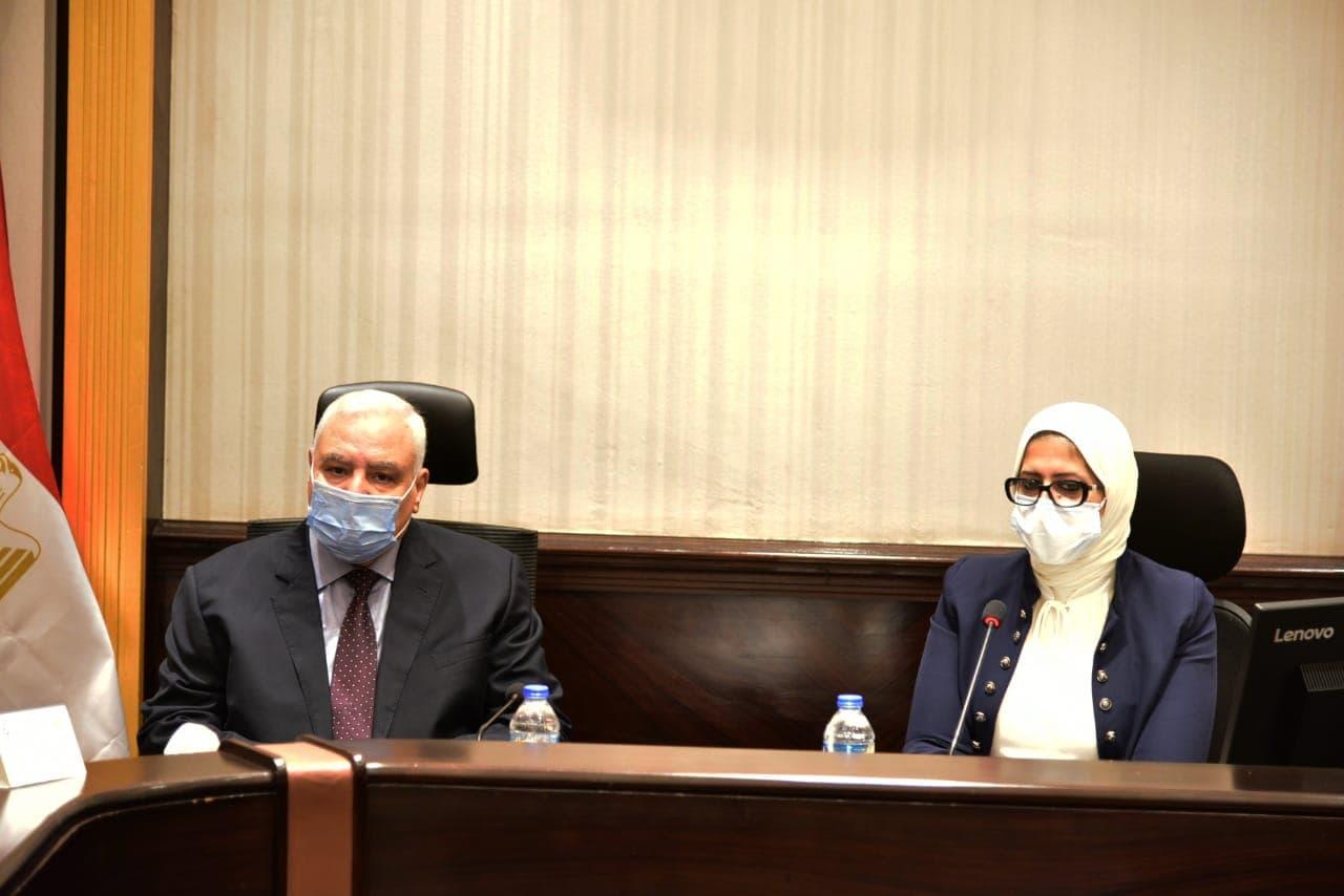 وزيرة الصحة ورئيس الهيئة الوطنية للانتخابات