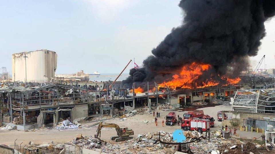 حريق بيروت الثاني