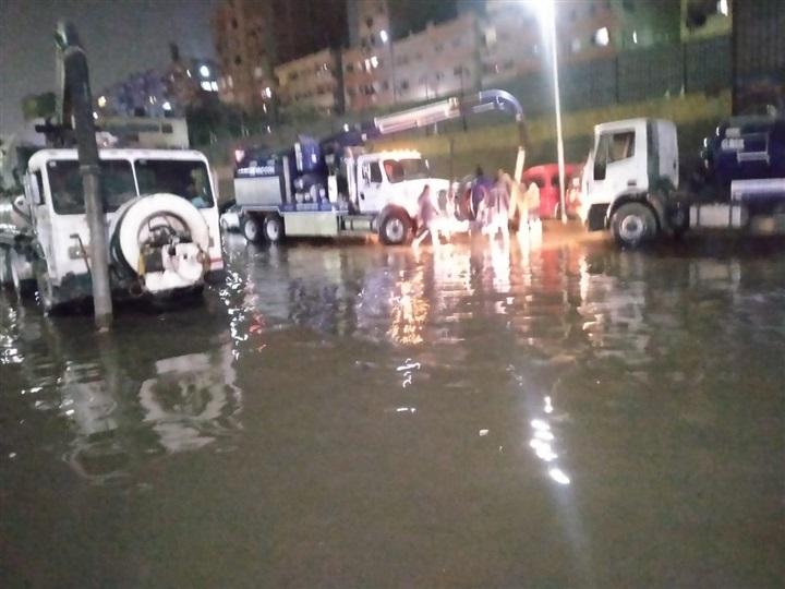 قطع المياه بمنشية ناصر