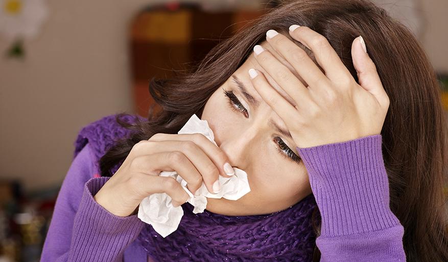الإصابات بالإنفلونزا
