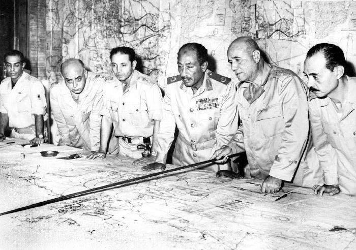 قادة حرب أكتوبر 1973