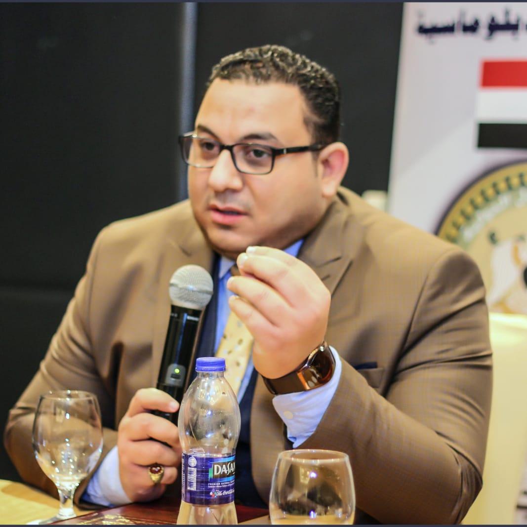 كريم عادل خبير اقتصادي، رئيس مؤسسة العدل الدولية