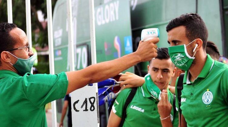 لاعبو الرجاء المغربي