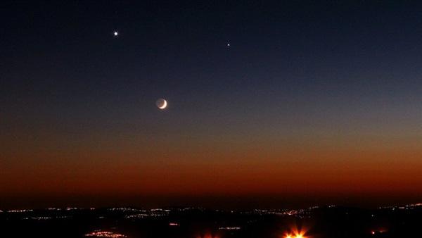 اقتران القمر والمريخ