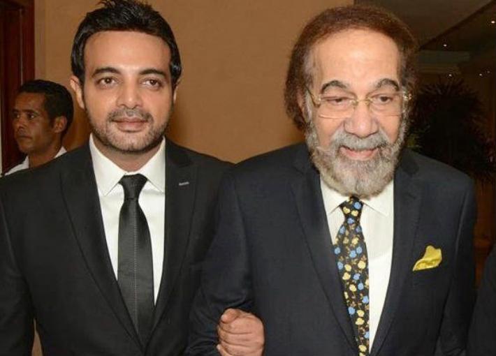 محمود ياسين ونجله