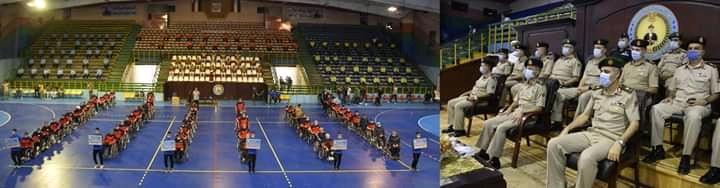مهرجانًا رياضيًا بمناسبة ذكرى إنتصارات أكتوبر