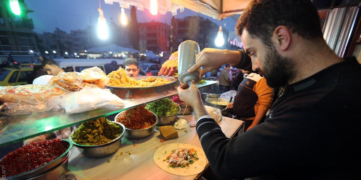 المطاعم السورية