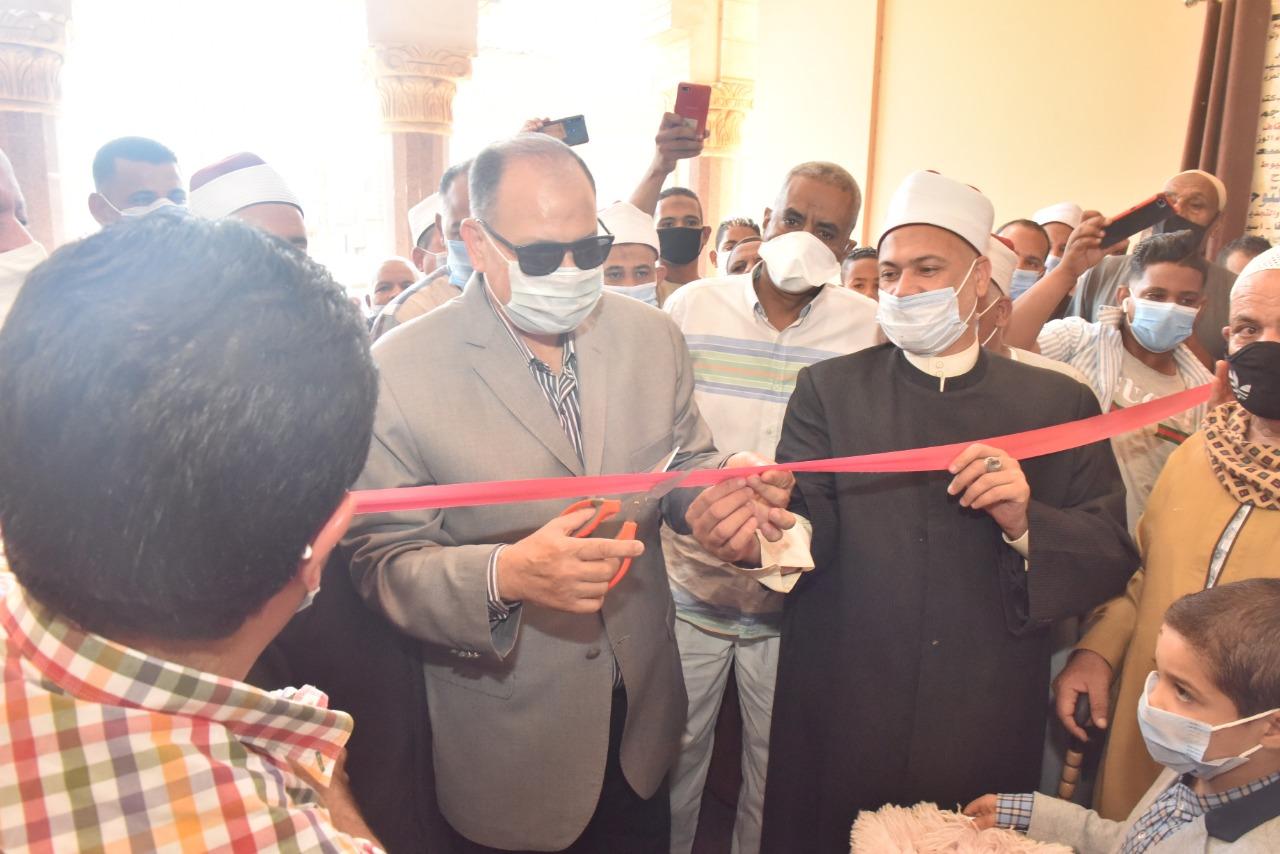 محافظ أسيوط يشهد افتتاح مسجد التوحيد بقرية الدوير بأسيوط مسجد