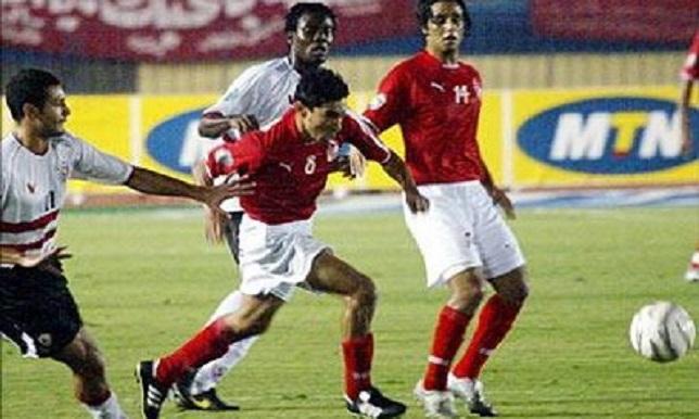 الأهلي والزمالك في دوري أبطال 2005