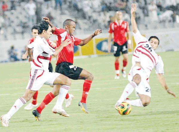 الأهلي والزمالك في دوري الأبطال 2008