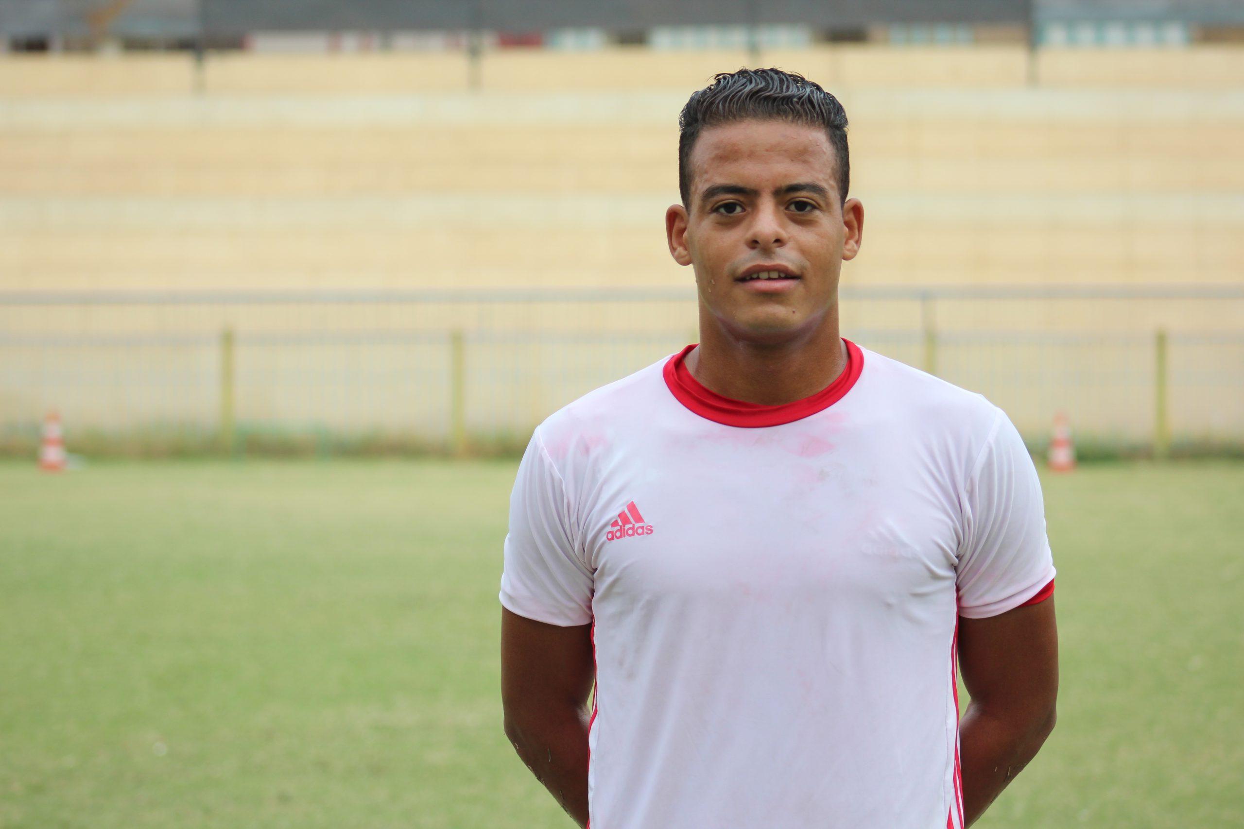فهد محمد، لاعب المدينة المنورة، تصوير نورهان ذكي