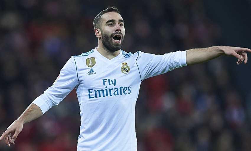 داني كارباخال مدافع نادي ريال مدريد