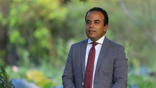 الإعلامي محمد غانم