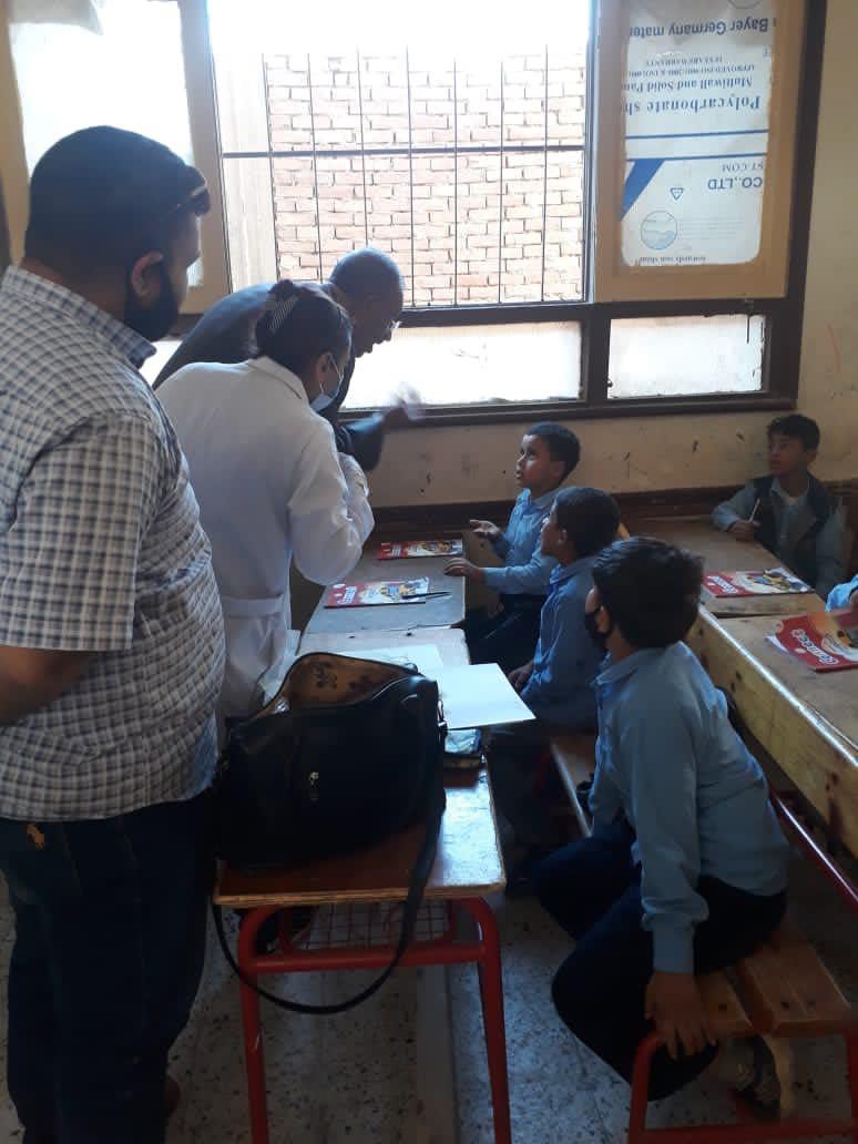 تجريع طلاب مدارس المنيا