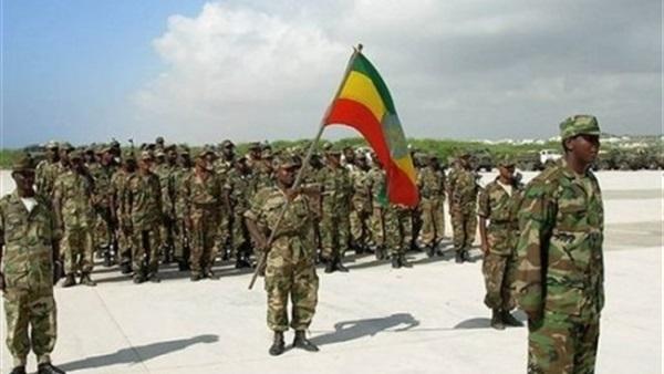القوات الإثيوبية