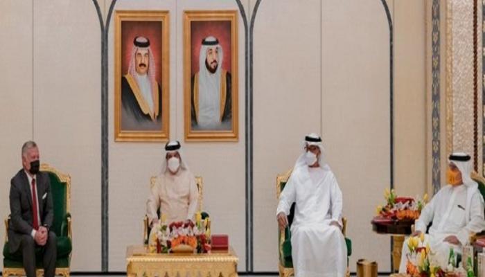 اللقاء الإماراتي البحريني الأردني