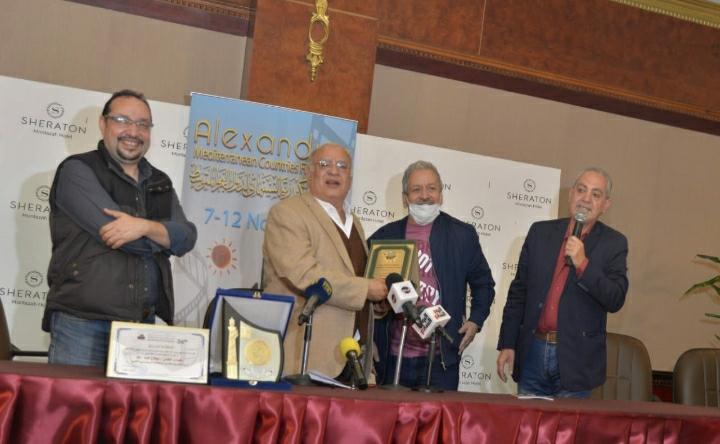ندوة تكريم الفنان صلاح عبد الله بالإسكندرية السينمائي