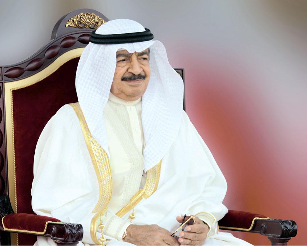 رئيس الوزراء الأمير خليفة بن سلمان