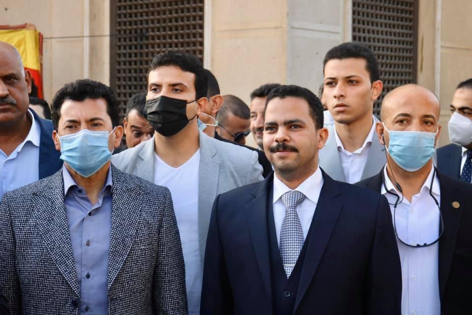 أشرف رشاد، عضو مجلس النواب عن محافظة قنا، المصدر صفحته الشخصية