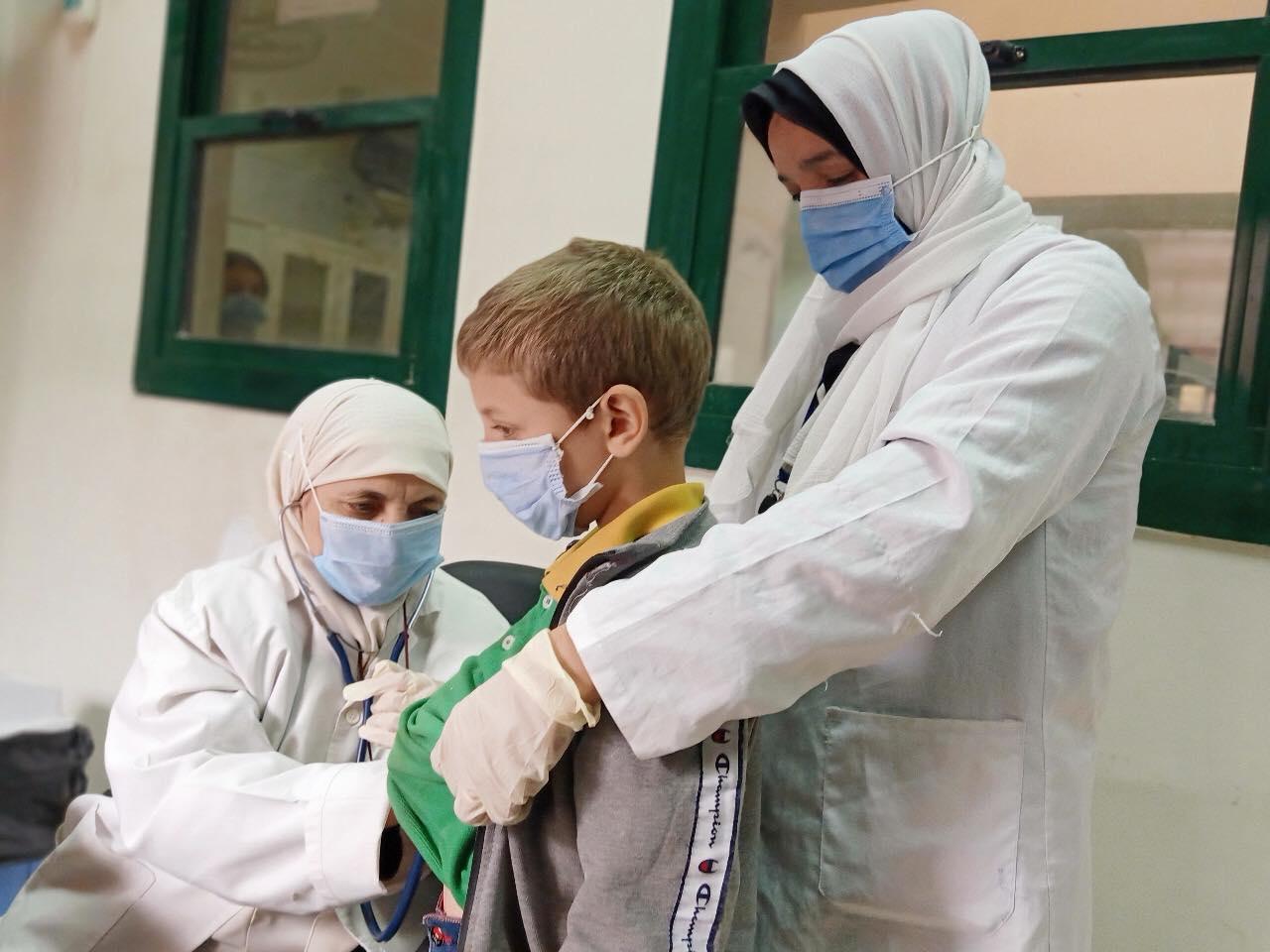 قافلة طبية بمركز سمالوط
