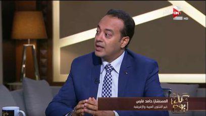 حامد فارس الكاتب المختص بالشؤون الليبية