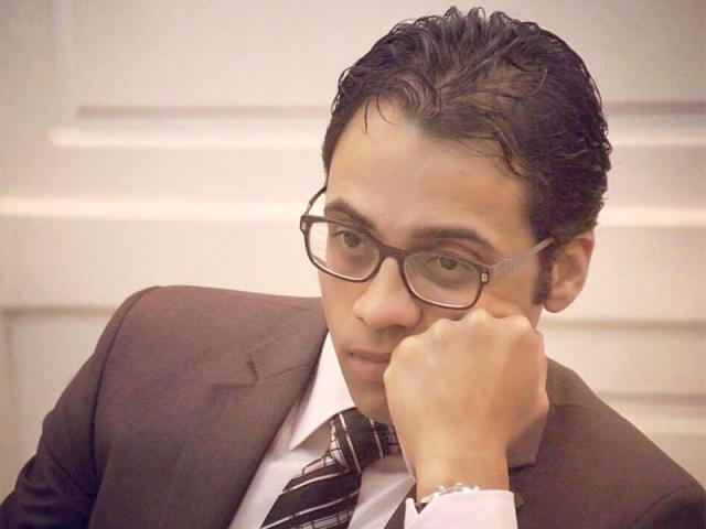 أحمد كامل بحيرى الباحث فى مركز الأهرامات