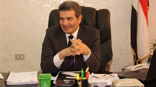 د محمد جلال نائب رئيس جامعة المنيا