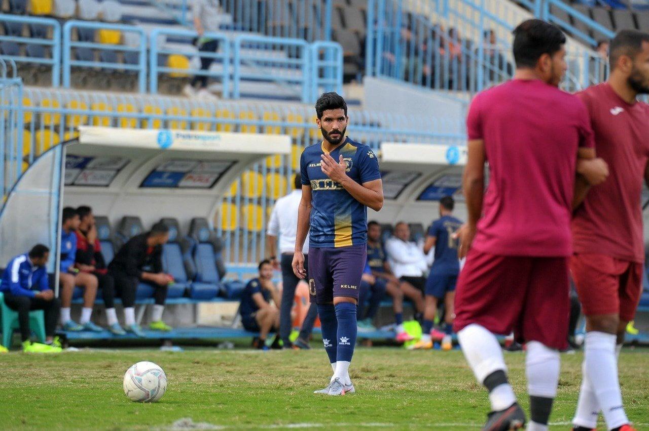 صالح جمعة يشارك في مباراته الأولى مع سيراميكا كليوباترا