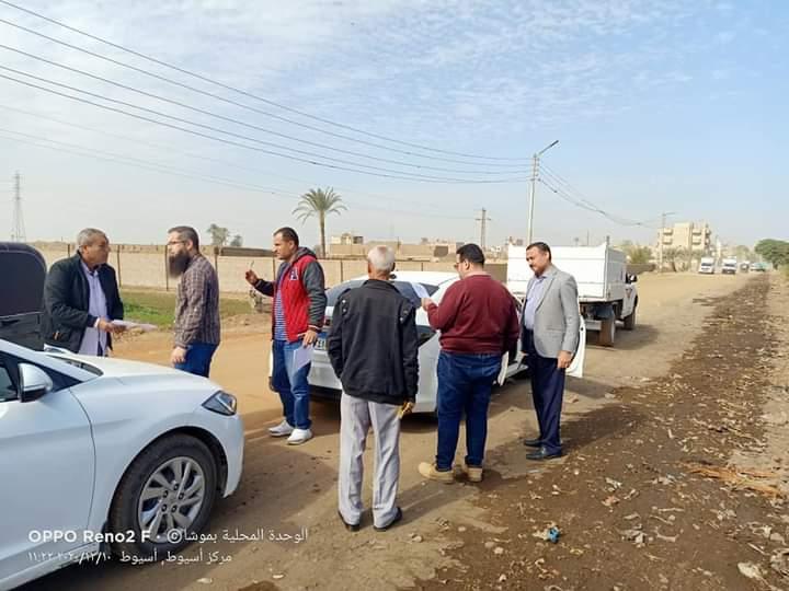 بشري لأهالي قريتي موشا وشطب...بدء أعمال رصف الطرق