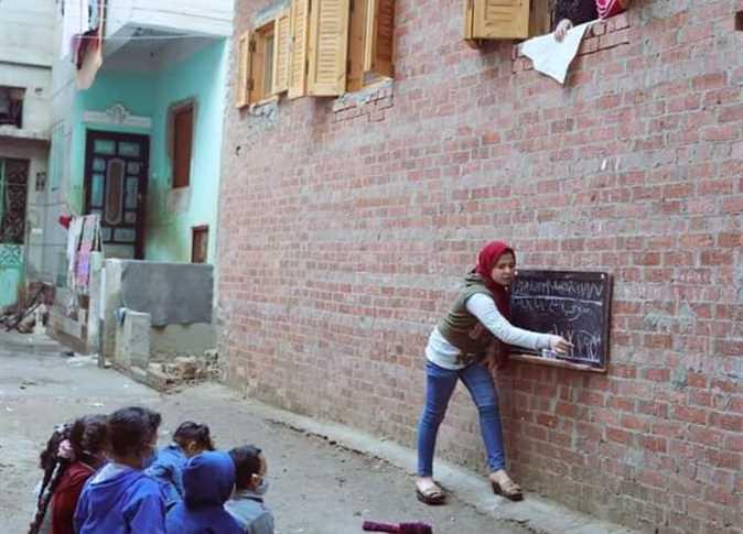 أصغر مُعلمة في مصر