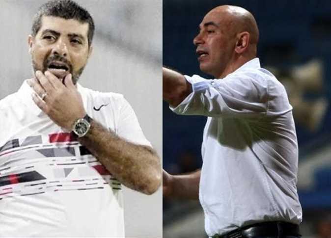 حسام حسن وطارق العشري