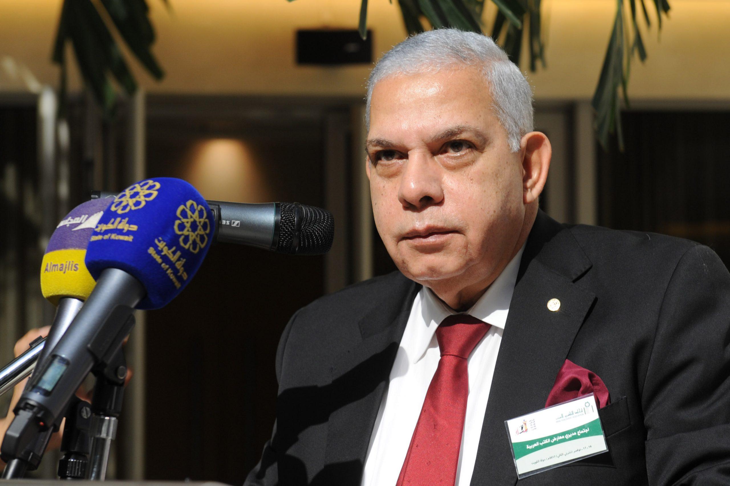 محمد راشد، رئيس اتحاد الناشرين العرب