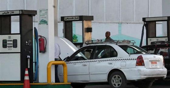 الغاز الطبيعي في محطات الوقود