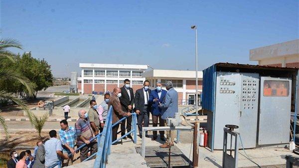 محطة مياه كدوان بالمنيا