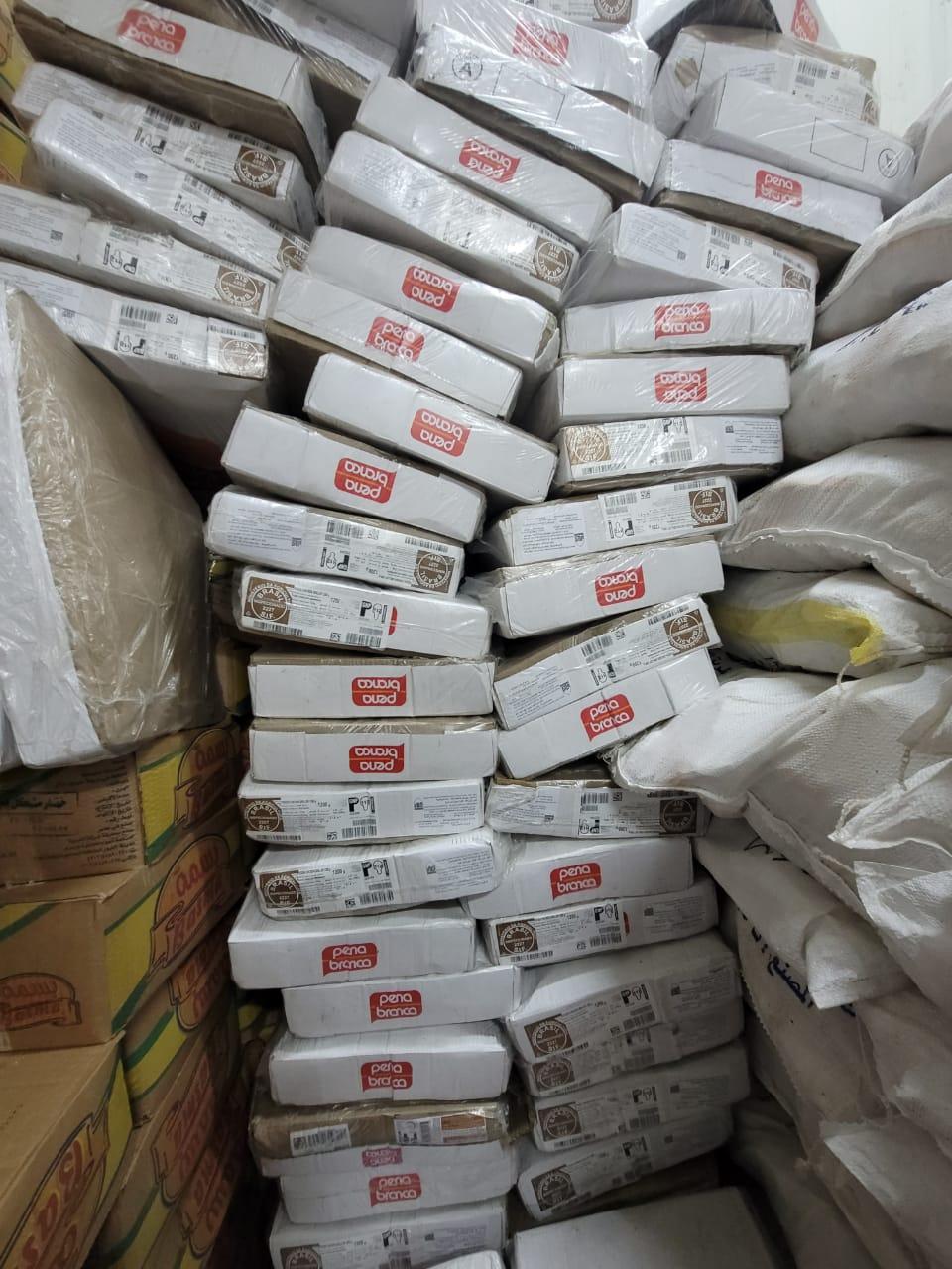 ضبط ٢٠ طن أغذية فاسدة قبل توزيعها علي المواطنين بأسيوط