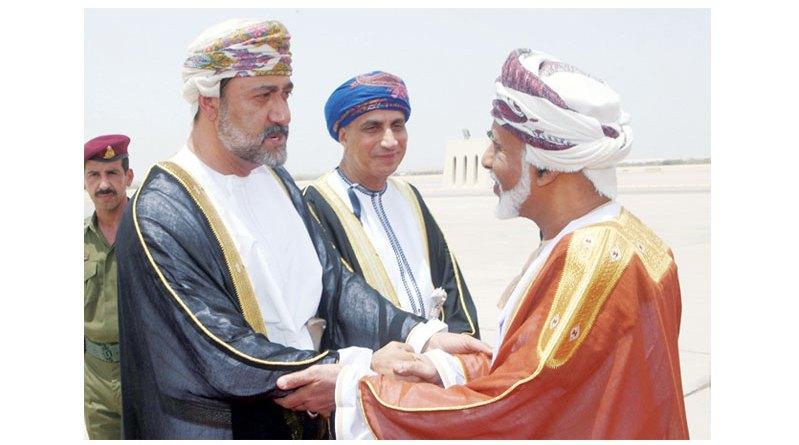السلطان قابوس بن سعيد بن تيمور