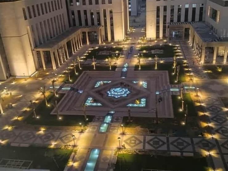 حي الحكومي بالعاصمة الإدارية