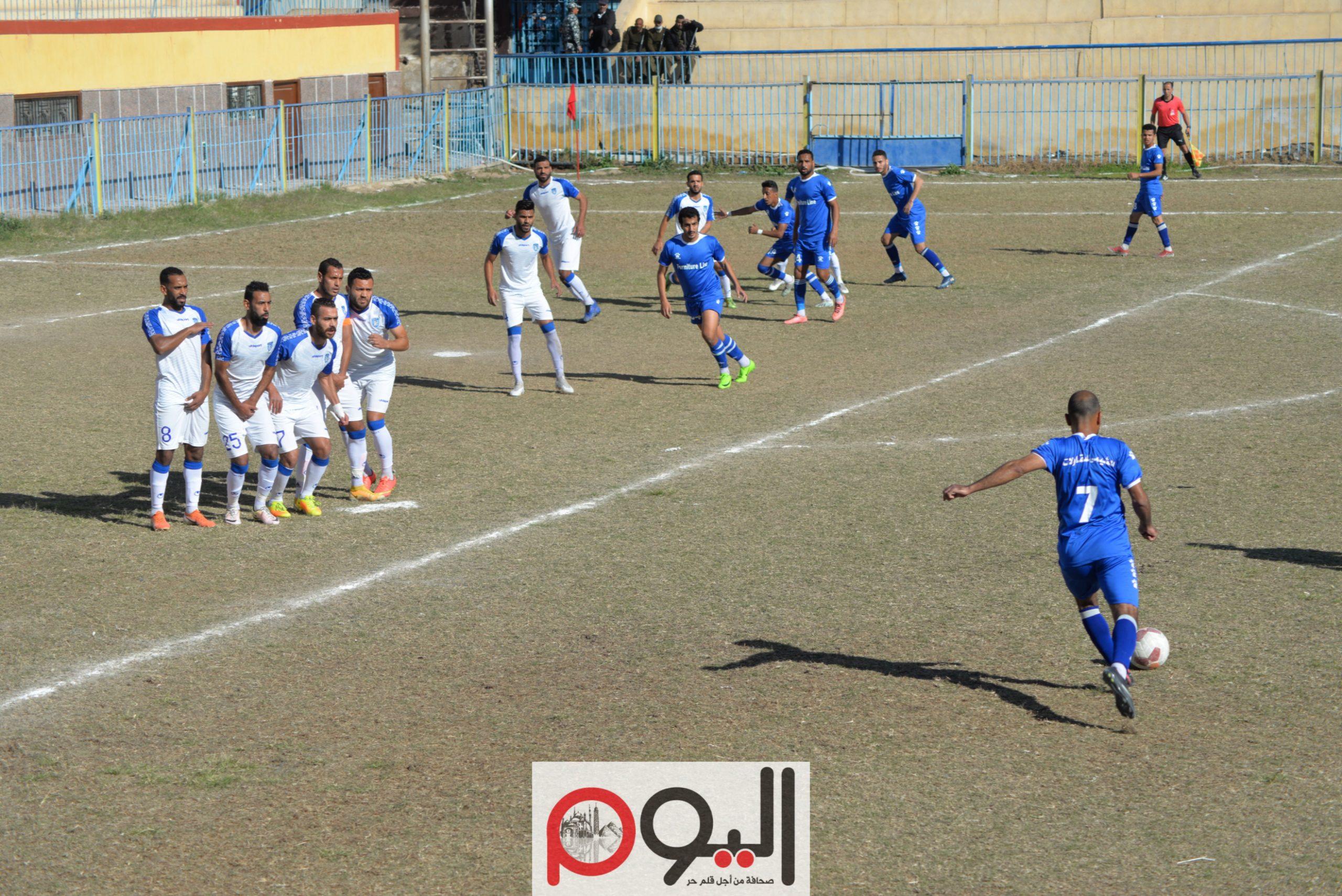 مباراة شبان قنا والألومنيوم بالقسم الثاني، تصوير نورهان ذكي