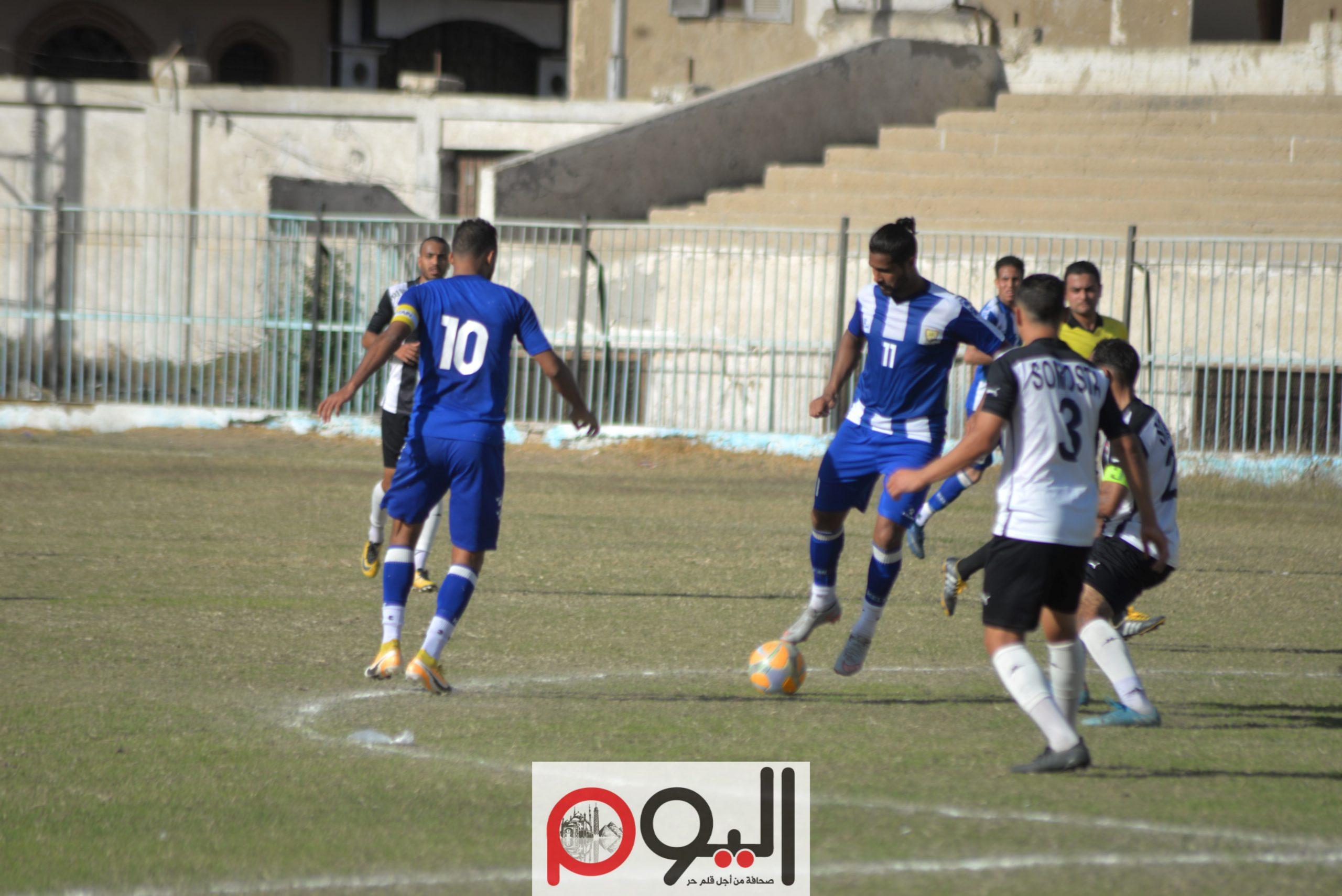 مباراة قنا وشباب سمسطا بالقسم الثاني، تصوير نورهان ذكي