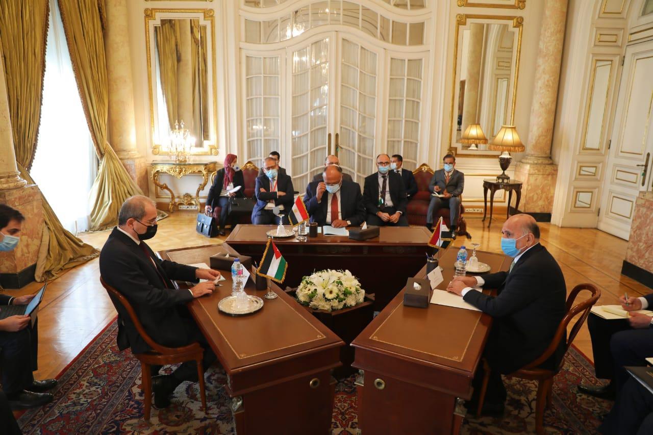 التنسيق الثلاثي بين مصر والأردن والعراق