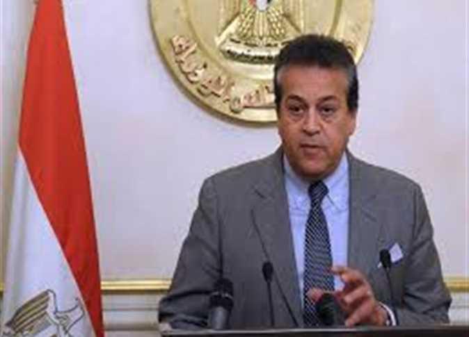 الدكتور خالد عبدالغفار، وزير التعليم العالي،