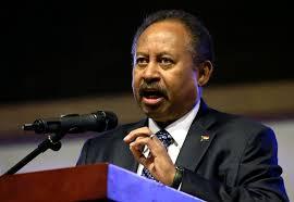 حمدوكـ رئيس الوزراء السوداني