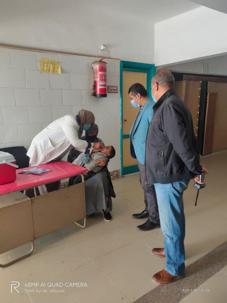 صحة المنيا تنفذ حملة شلل الاطفال