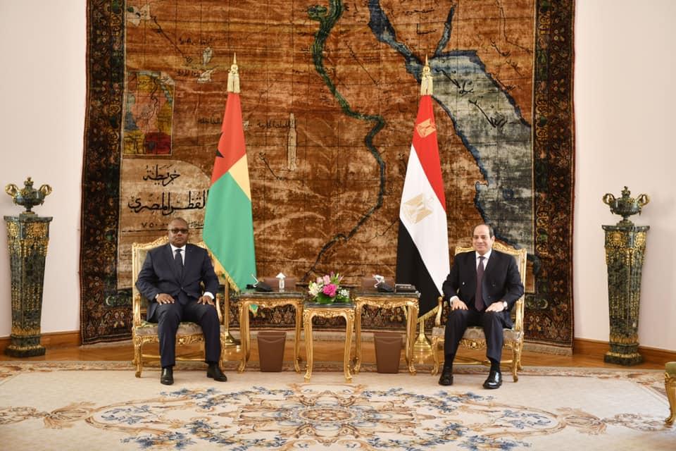 إجتماع الرئيس السيسى ورئيس غينيا الإستوائية