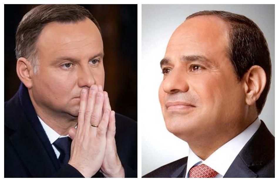 رئيس بولندا يعزي الرئيس السيسي