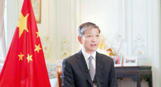السفير الصينى بالقاهرة