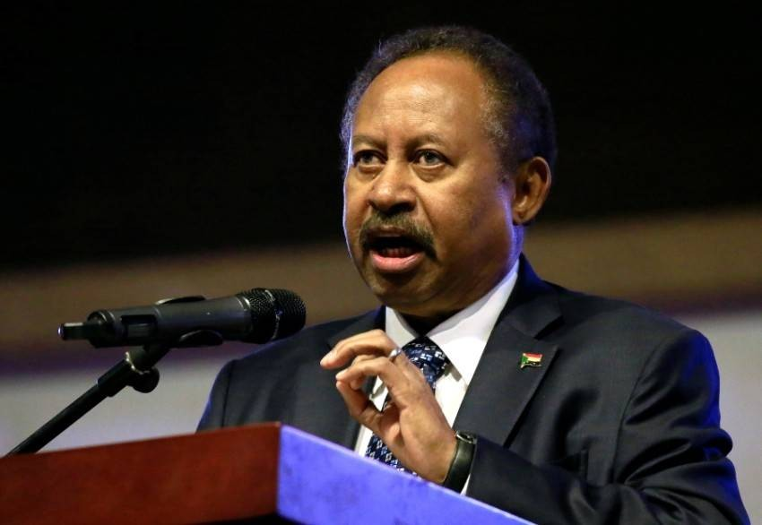 عبدالله حمدوك رئيس الوزراء السوداني