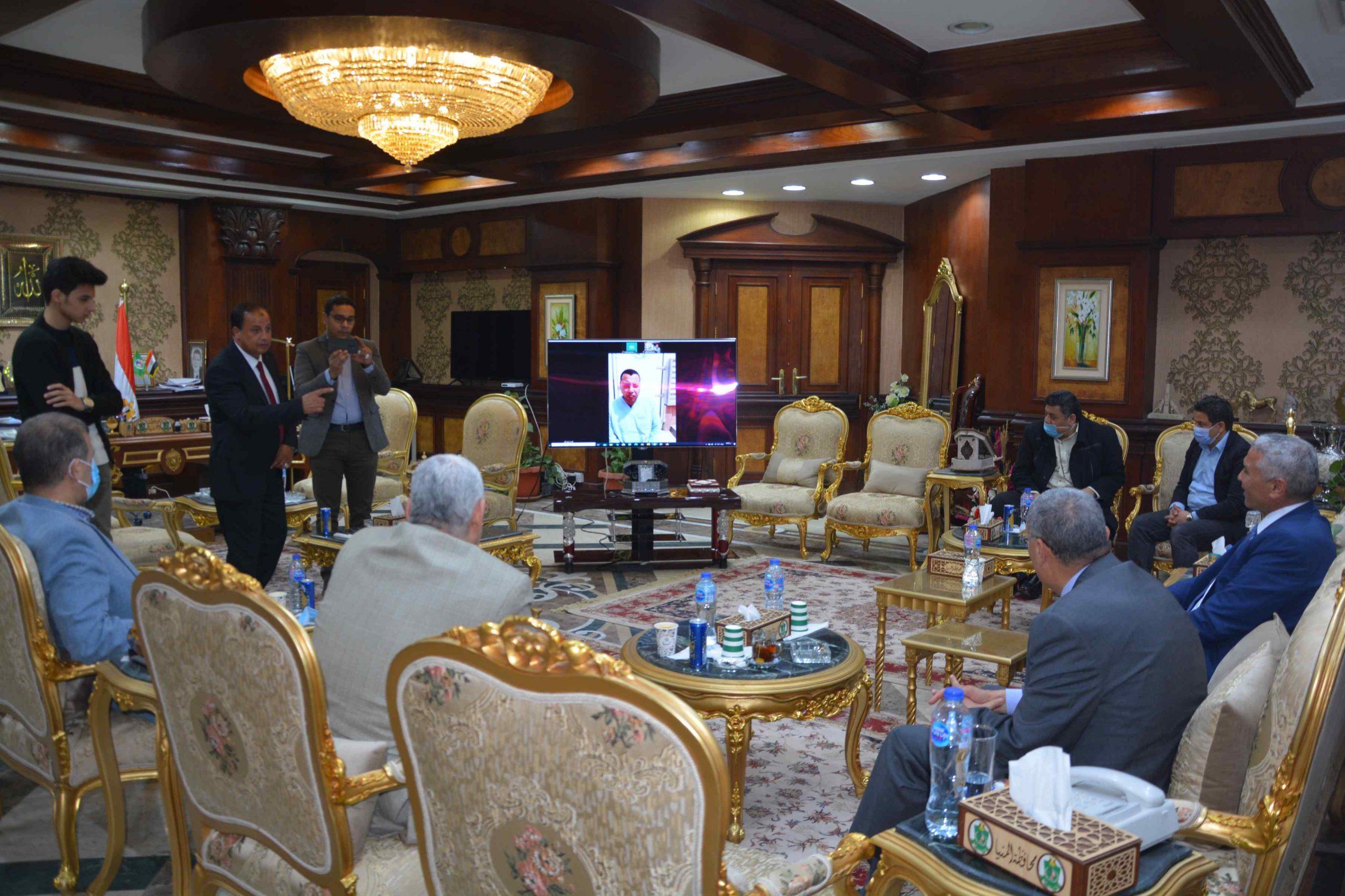 بروتوكول تعاون بين محافظة المنيا وهيئة تنمية الصعيد